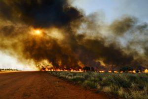 Bushfire smoke effects in underground mines