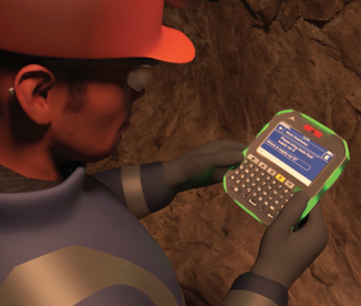 Strata Worldwide communication system for miners