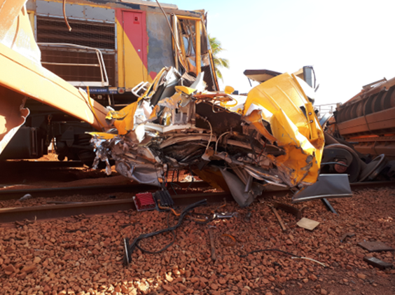Train Collision at Weipa