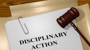 electrical licensing disciplinary action