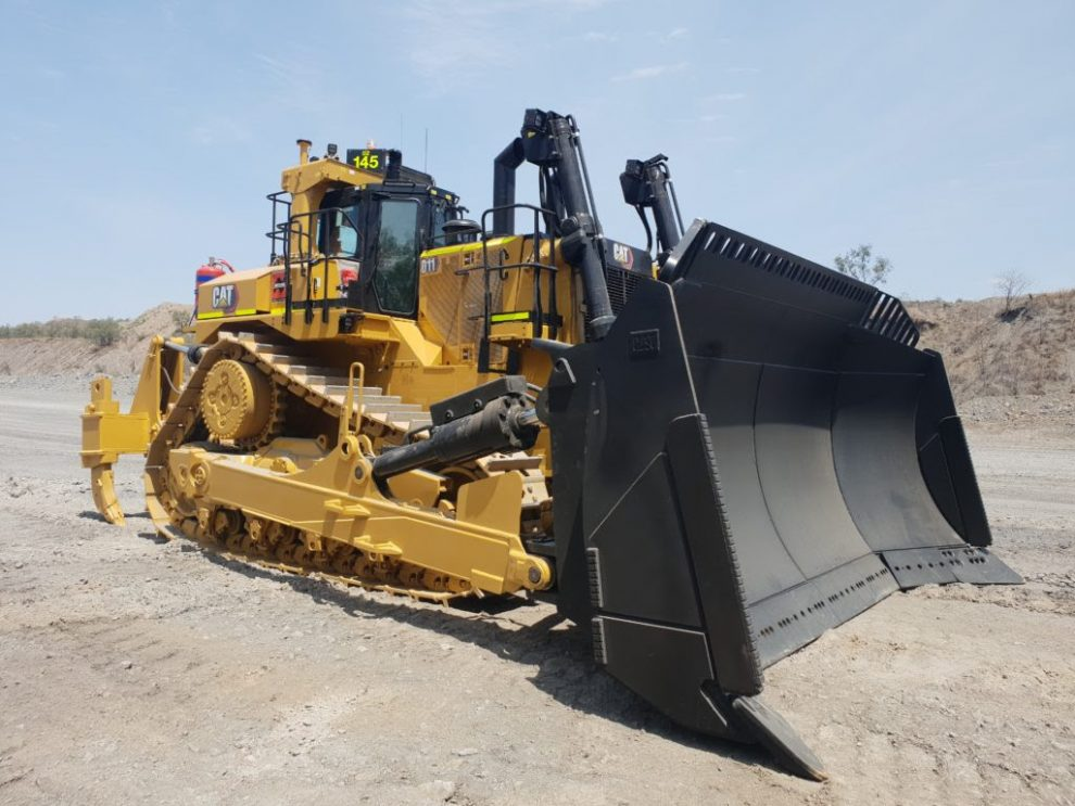 New Caterpillar D11 delivered to BMA Blackwater