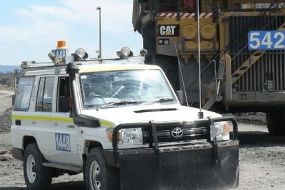 Light Vehcile Crash at Glencore Ravenworth mine