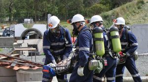 Rescue teams search for Tasmania Mineworker missing at Henty Gold mine