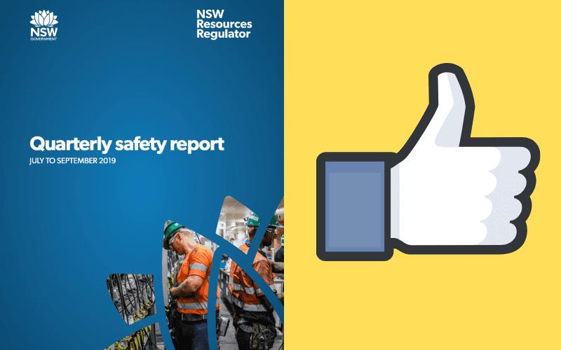 NSW mine Safety regulator Report