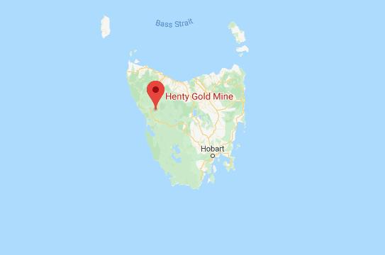 Henty Gold mine