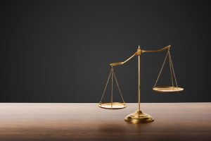 Balance scales in fair work commission