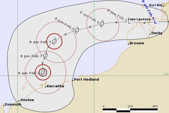 BOM Cyclone Damien