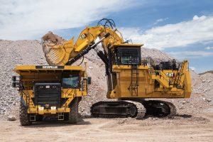 Cate 6030 hydraulic mining shovel emissions