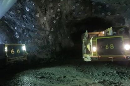 Pybar mining retrieval of tasmanian miner