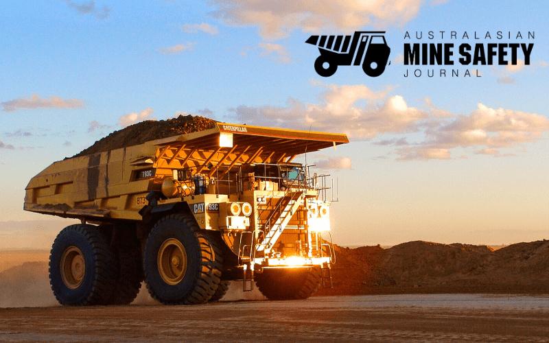 Australasian mine safety journal advertising truck