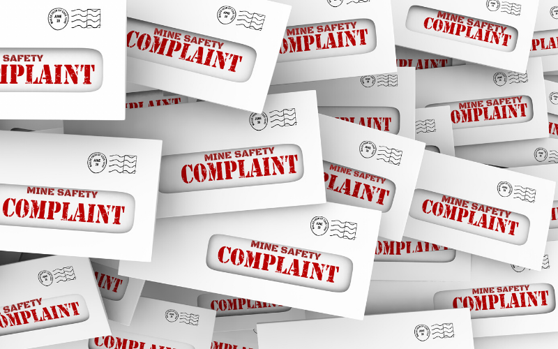 mine safety complaints