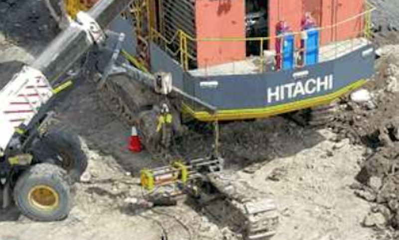track press serious mining incident