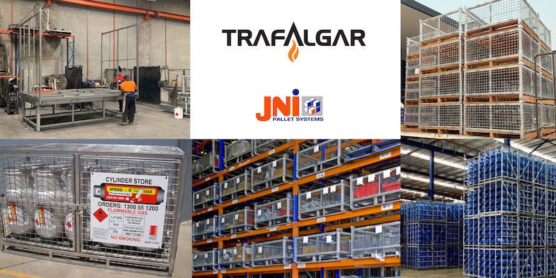 JNI Pallet systems joins trafalgar group of companies