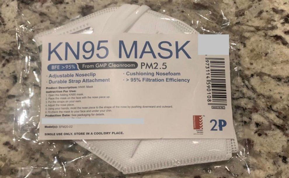 Fake respirator