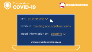 Safework Australia guidance COVID-19
