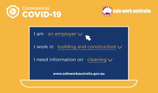 Safework Australia guidance COVID-19