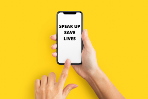 Speak Up save lives App