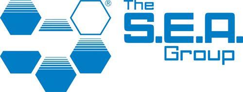 The S.E.A. logo