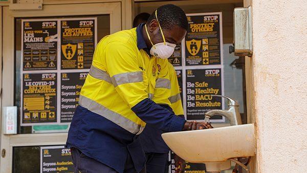 Aussie miner covid-19 africa