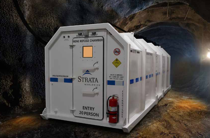 Emergency refuge chamber