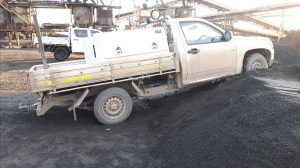Light vehicle collision at mine - change management