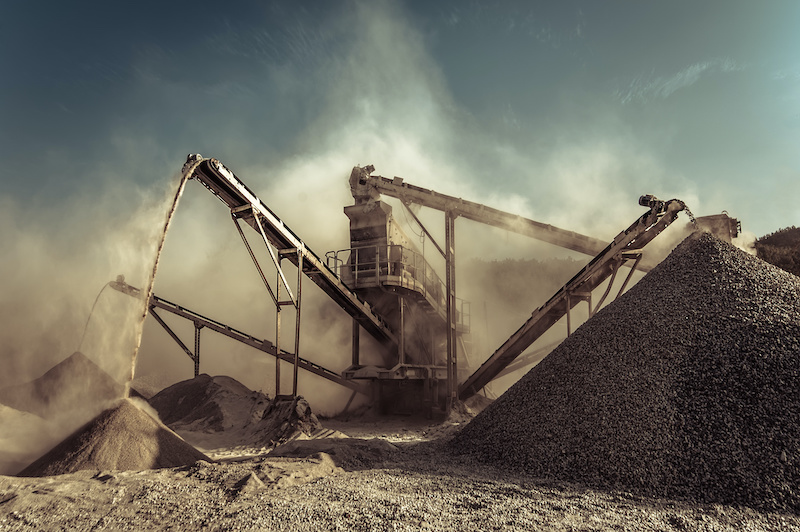 tackle dust at mines and quarries