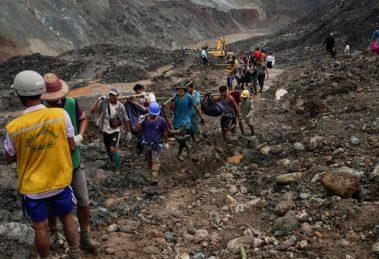 Myanmar Jade mine disaster