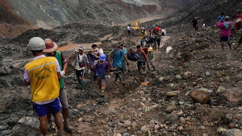 Myanmar Jade mine disaster
