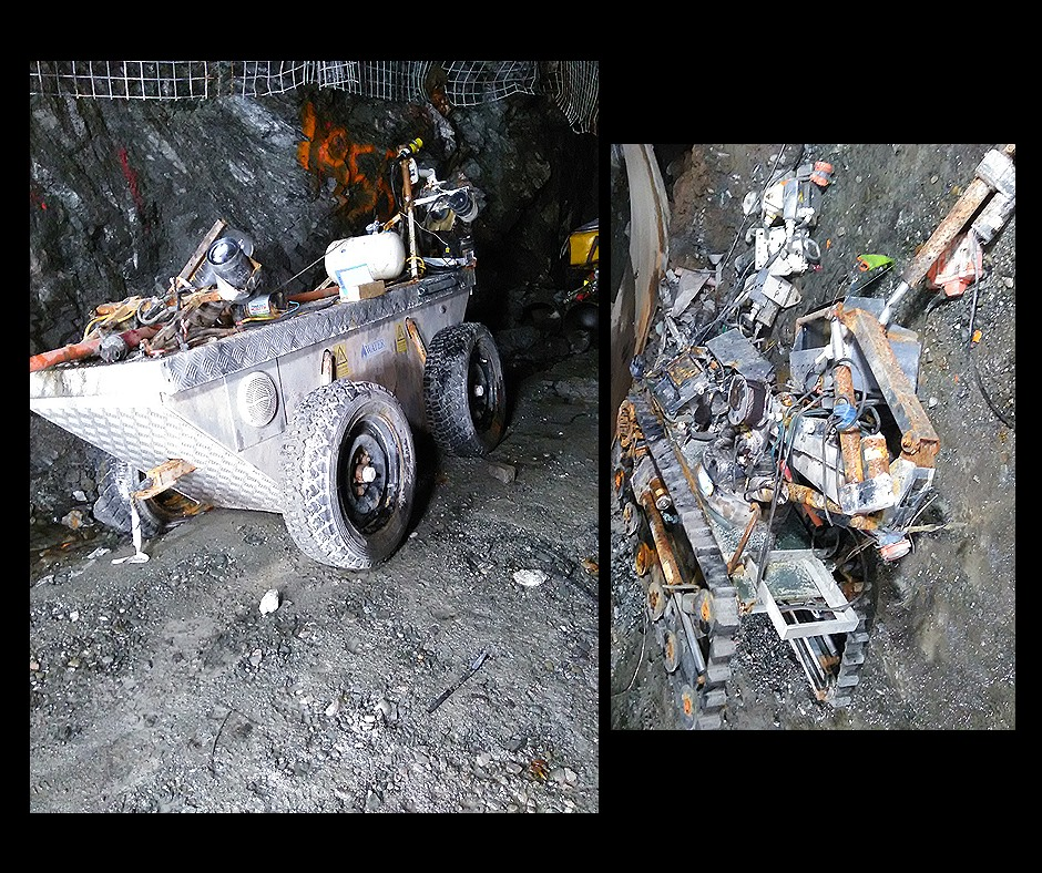 Pike river mine robots
