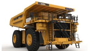 Komatsu 830E-5 dump trucks