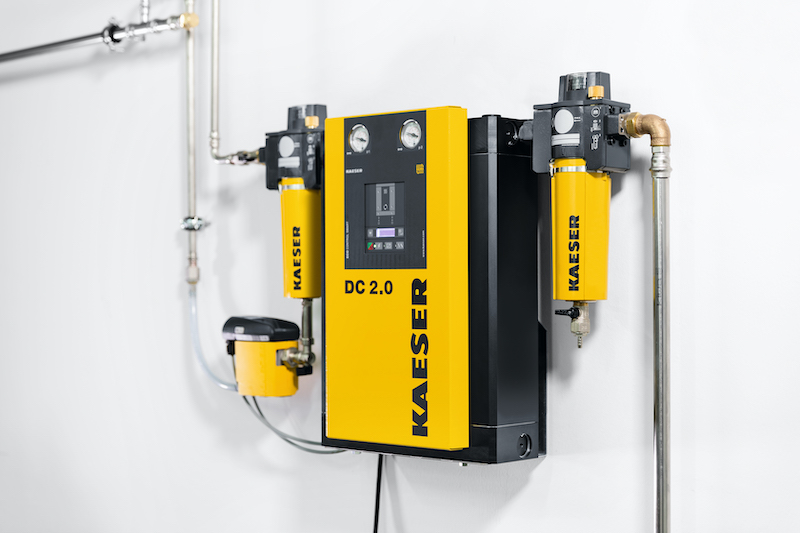 Kaeser launches its next generation heatless regenerated desiccant dryers