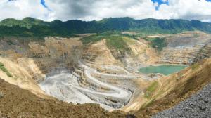 Lihir Gold mine hot ground mining safety hazards
