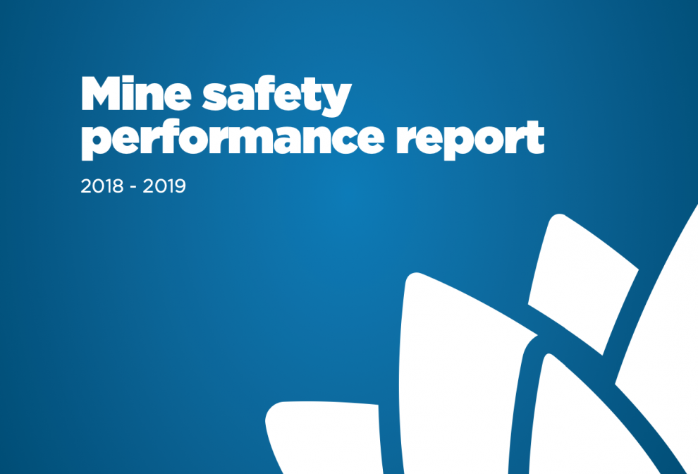 new mine safety regulator's report