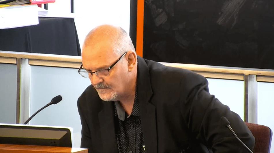 Stephen Woods CFMEU at Coal Mine inquiry