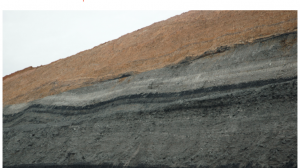 Top of coal detection technology