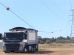 Truck Connecting with Powerlines