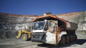 BIS Rexx mining haul truck