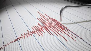 Seismic activity resulting from a fall of ground at Gwalia mine