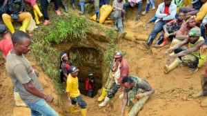 DRC mine accident site