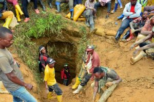 DRC mine accident site