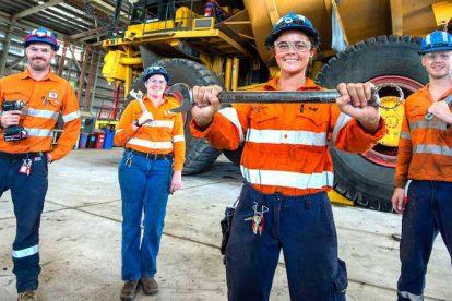 BHP apprenticeship