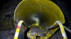 self escape underground mining