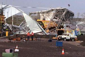 BHP mine workshop collapse