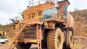 mining water carts