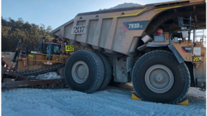dump truck collision