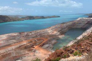 Koolan Island mining operation