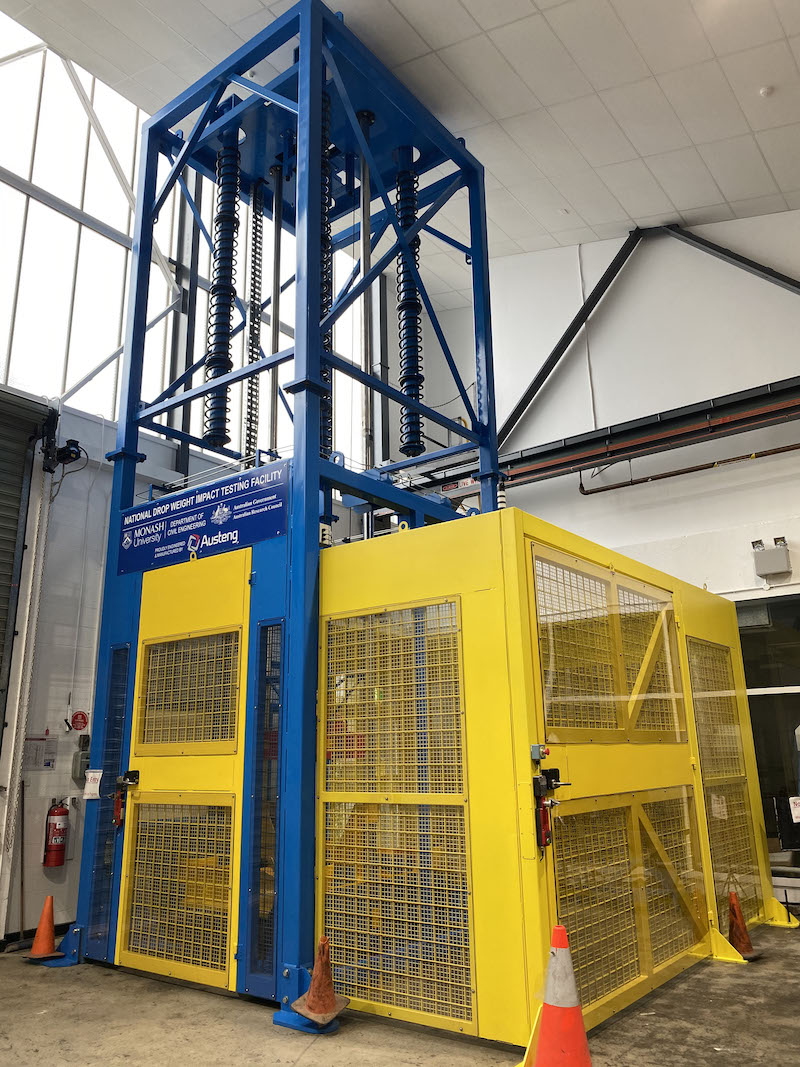 National Drop Weight Impact Testing Facility