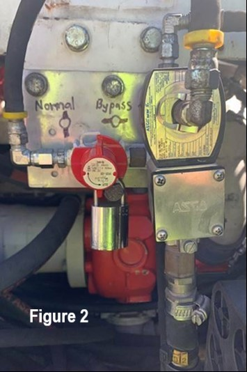 Bypassed Methane Detector on Explosion Protected Diesel Engines