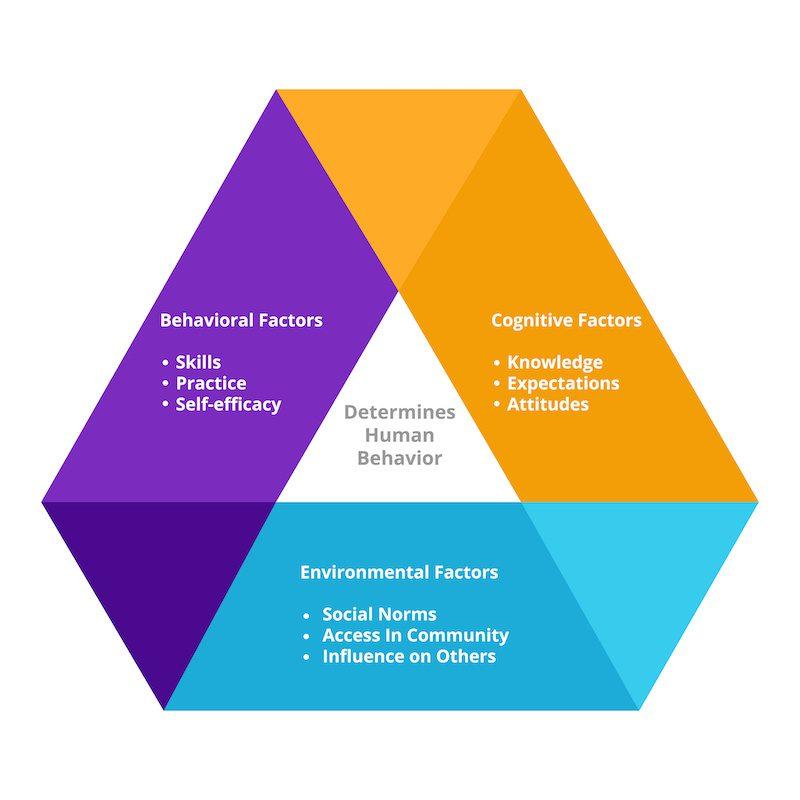 Factors influencing human behaviours