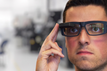 Industrial smart glasses Iristick